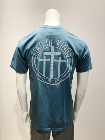 KING OF KINGS - Alahouana Light Blue T-Shirt - Noeau Designers