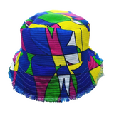AUMOANA - Vintage Fabric Bucket Hats (Various Colors) - Noeau Designers