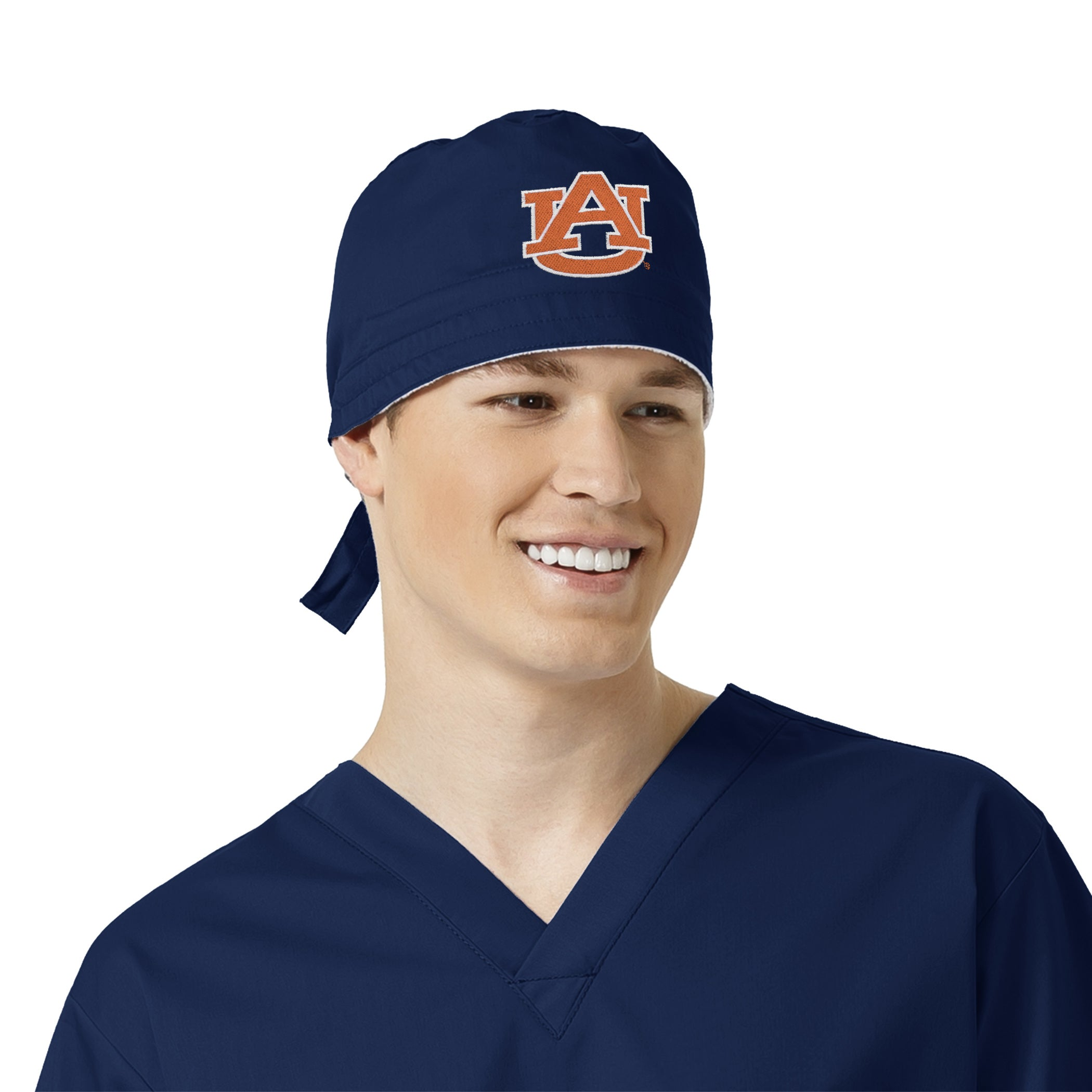 eff1d0a80 Auburn Tigers Unisex Solid Scrub Rally Cap with back tie ...