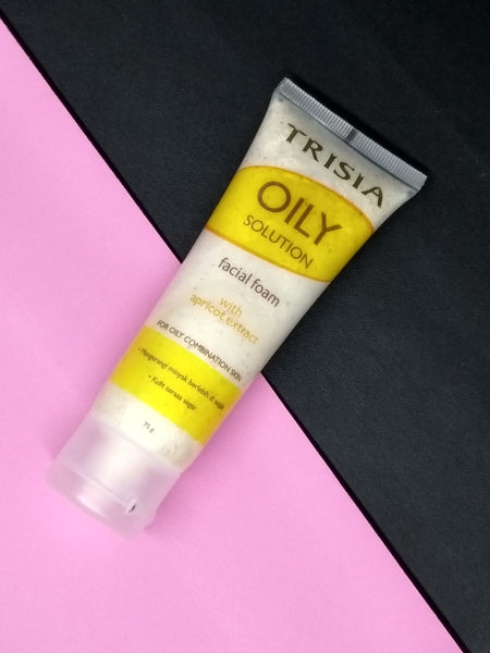 OILY SOLUTION APRICOT FACIAL FOAM