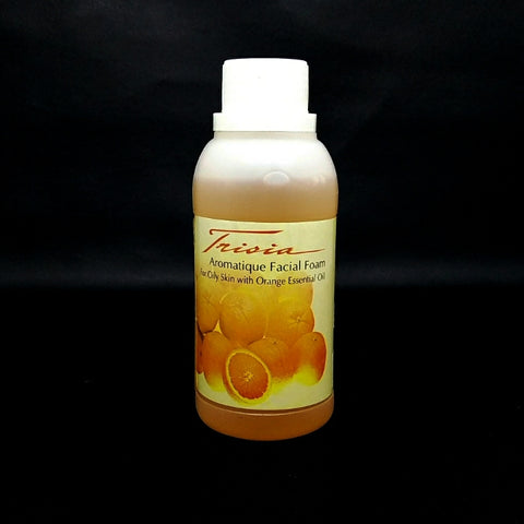 Orange Facial Foam for Oily Skin