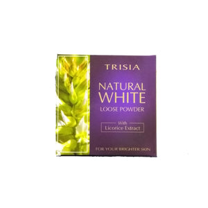 Licorice Natural White Loose Powder