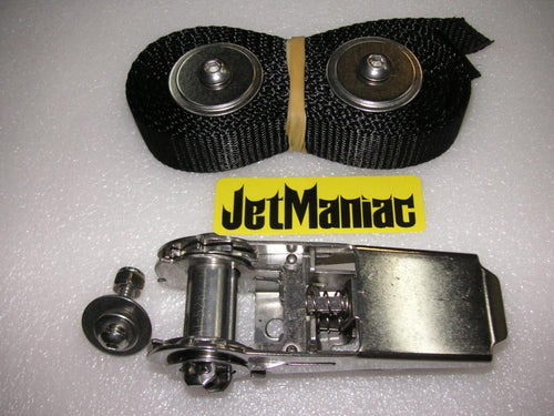 Jet Maniac Stainless Steel Ratcheting Hood Strap
