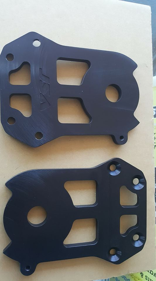 JSA Kawasaki 550 Quick Turn Plate