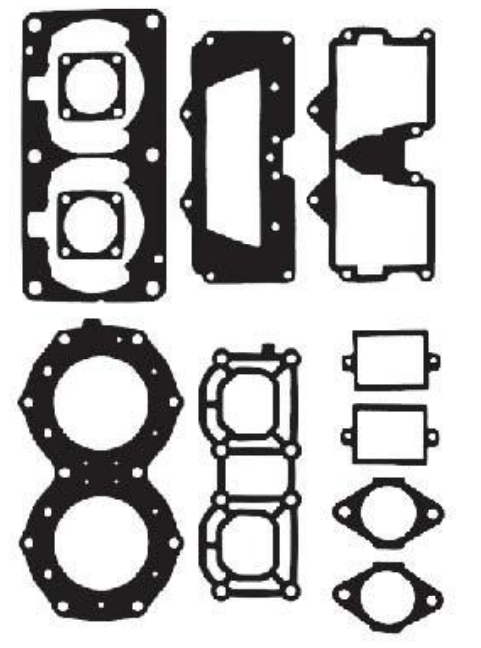 Yamaha 650 Top End Gasket Kit