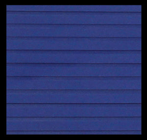 "Hydroturf Sheet - 40"" x 62"" - Deep Blue Grooved with 3M Adhesive"