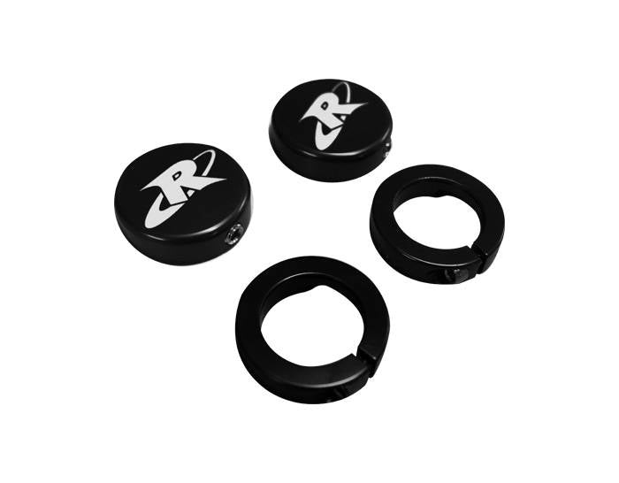 RIVA ODI GRIP END CAP & CLAMP KIT