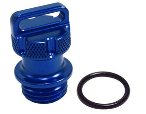 RIVA YAMAHA 1.8L BILLET ENGINE OIL FILLER CAP - BLUE