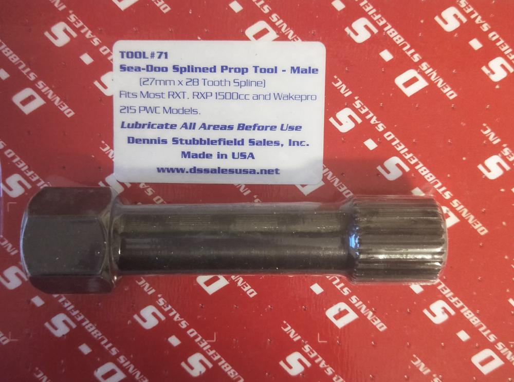 Hot Products Extended Sea-Doo Impeller Tool (27mm x 28 Tooth Spline)
