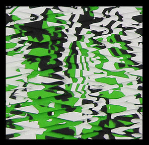 Hydroturf Sheet - Lime Green Camo Cut Diamond