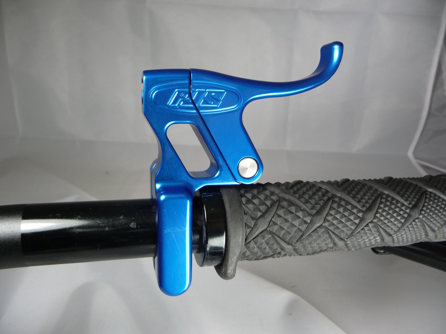 PJS Billet Trigger Throttle Lever - Blue