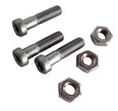 RRP Stainless bolts 3x (M10x40) with nuts for RRP Cast Handle pole