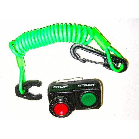 Atlantis Kawasaki Kill Switch Upgrade (with Lanyard)