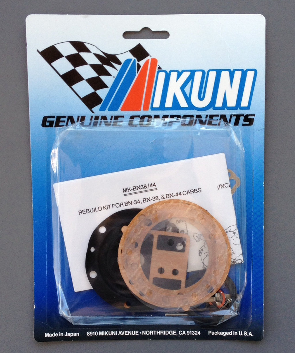 Rebuild Kit For Mikuni BN38 & 44 Mikuni Round Body Type