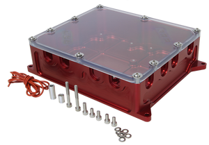 Aluminum Electric Box To Suit MSD Total Loss