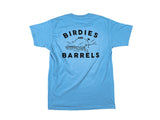 Blue Birdies & Barrels Graphic Tee