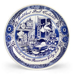 Delft Blue Birth Plate