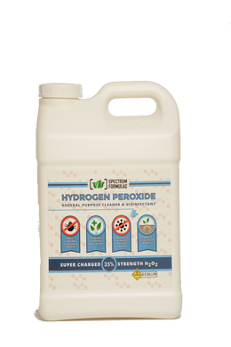 Spectrum Formulas Super Charged 35% strength H2O2   Hydrogen Peroxide General Purpose Cleaner & Disinfectant