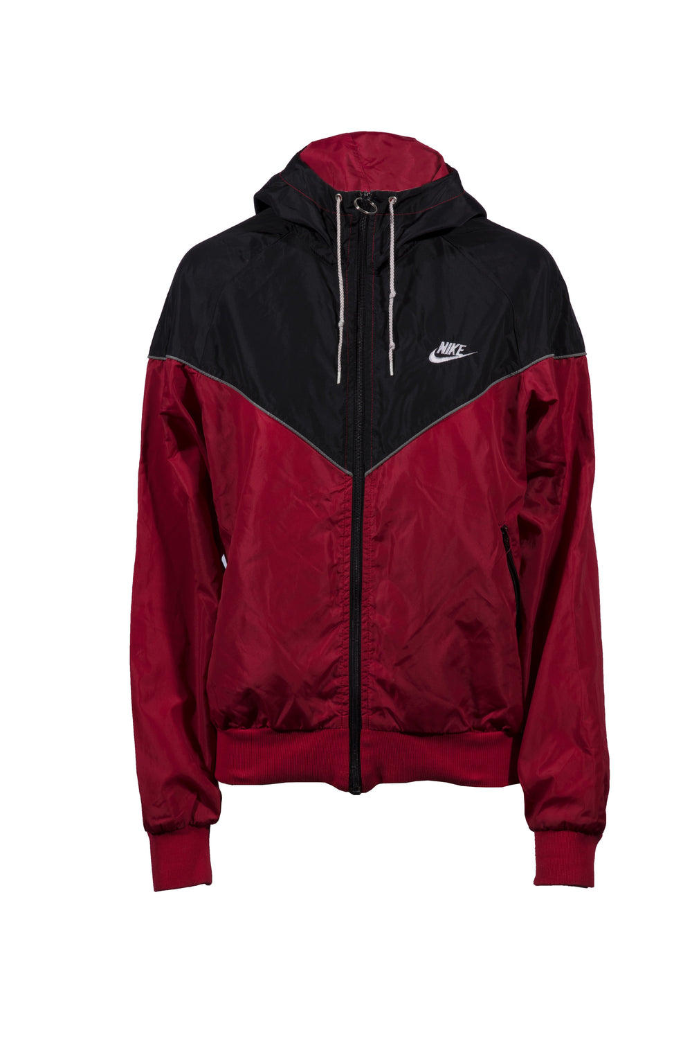 f0f4649710a6 WOMEN S NIKE BLACK RED EMBROIDERED WINDRUNNER – Three Stacks Melbourne