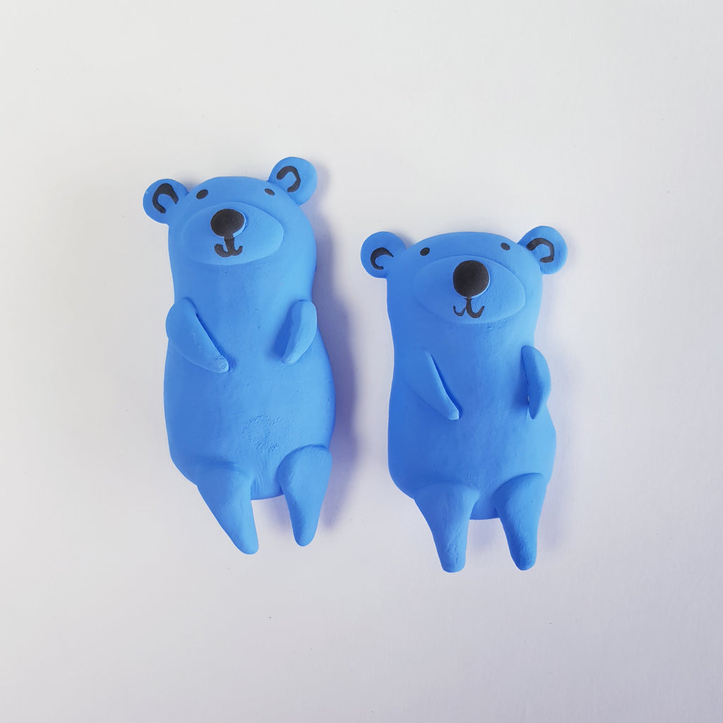 Two Blue Bears