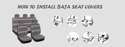 How to install baja seat covers