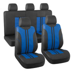 Autojoy Universal Car Seat Covers Full Set, Comfortable and Soft