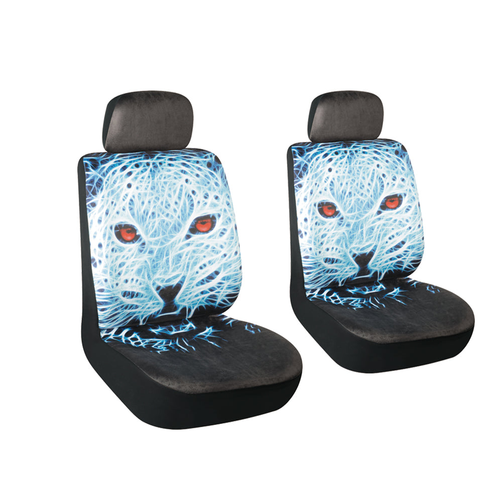 Autojoy Universal Car Seat Cover with Fashion Young Animals Digital Printing