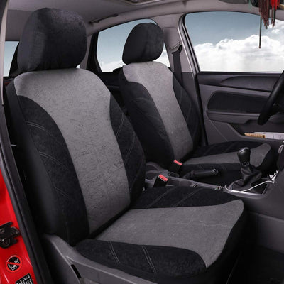 Velvet & Mesh Car Seat Covers