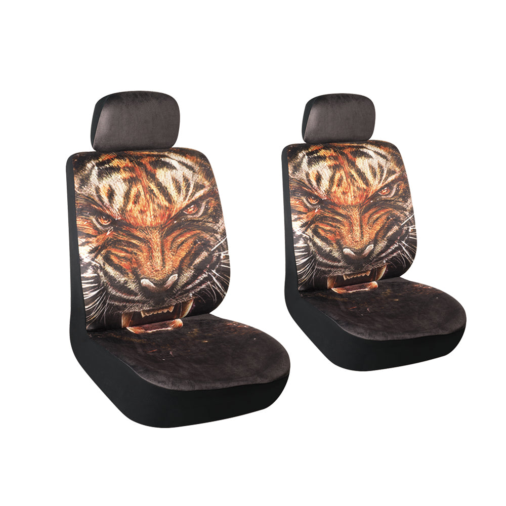 Autojoy Universal Breathable Car Seat Covers with Animal Printing