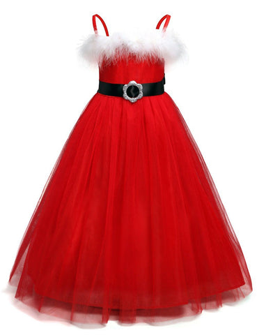 Christmas Children Costumes Toddler kids Dresses For Girls Clothes Baby Party Girl dress for girls Clothing Girl > Party Wears > Tutu Gowns - KidNappy
