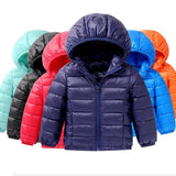 Light children's winter jackets Kids 90% Duck Down Coat Baby Winter Jacket For Girls parka Outerwear Hoodies Boy Coat Jackets - KidNappy