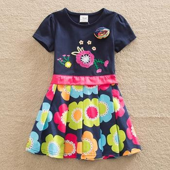 Baby Girl Clothes Short Sleeve Girls Dress Girl > Dresses - KidNappy