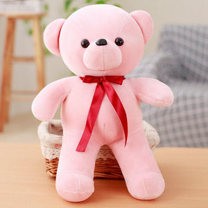 32/42cm Cute Daddy Birthday Valentines Gift Scarf Baby Bear Wedding Plush Toy High Quality Bear Doll Toys > Plush Toys > Animal Plush Toys > Bear Plush Toys - KidNappy
