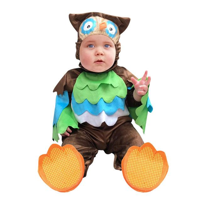 halloween costumes toddler infant baby animals tiger lion panda bunny owl penguin costume cosplay for baby