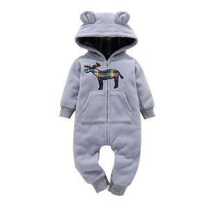 Gender Neutral Baby Winter Long Sleeved Romper