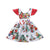 Xmas Toddler Baby Girl Sleeveless Cotton Dress for Christmas