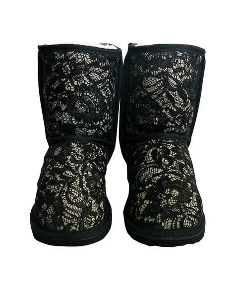 Short Lace Boot