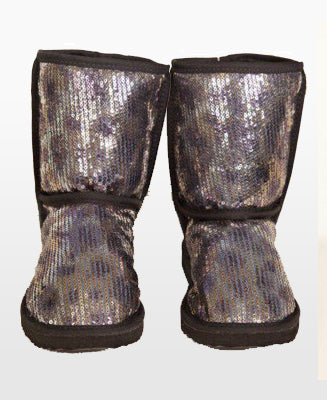 Short Sequin Boot