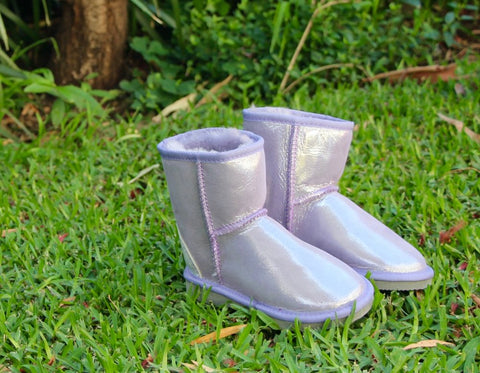 Kids Unicorn Purple Poleuggs