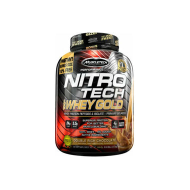 NITRO-TECH 100% Whey Gold, 5.5lbs