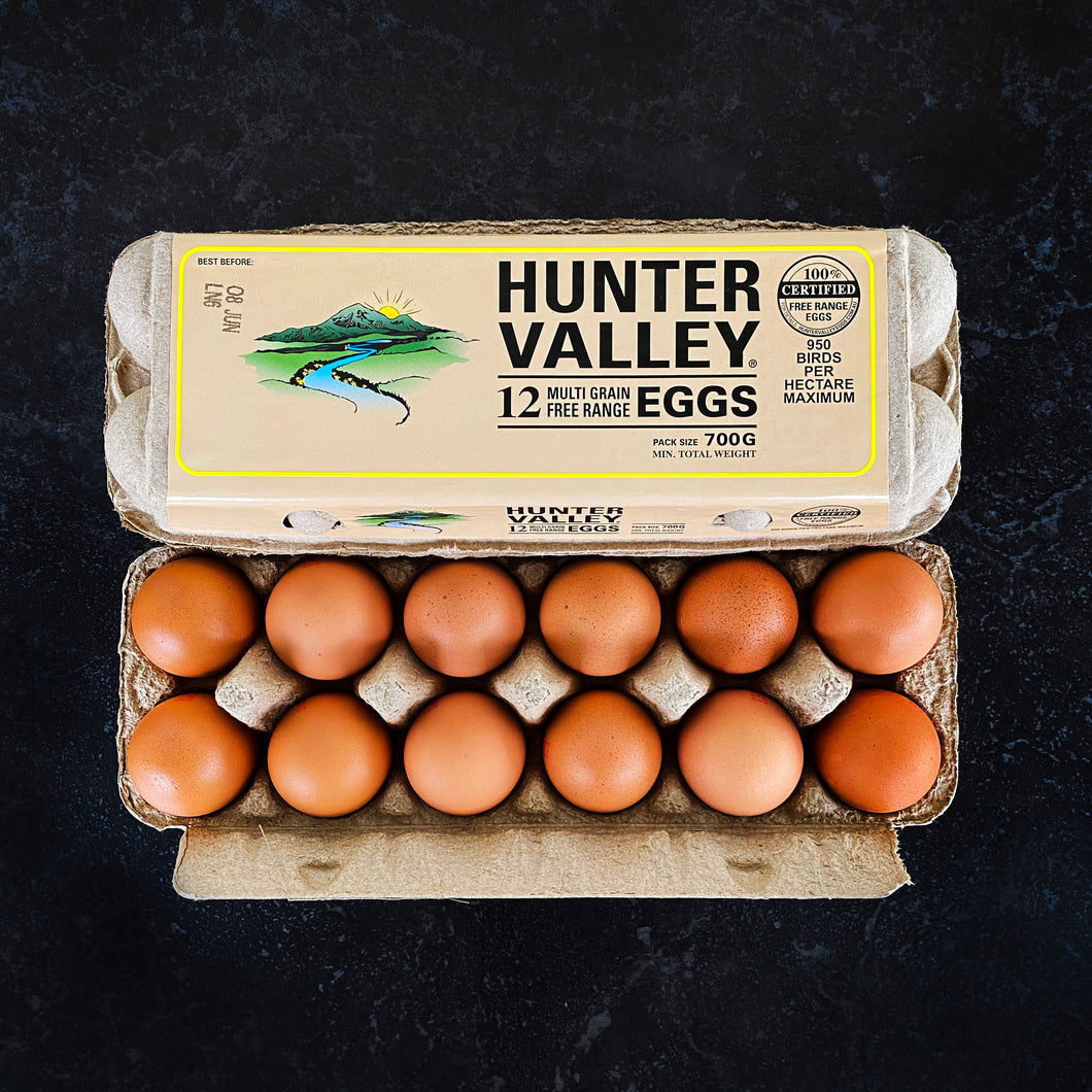 SPECIAL Eggs 700g Hunter Valley Multi-Grain Free Range