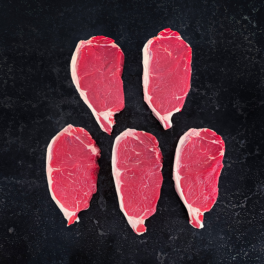 Grain Fed Sirloin Steak 300g 5/pkt