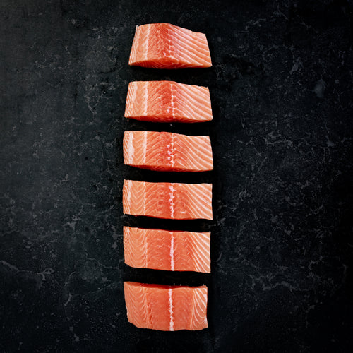 Atlantic Salmon Fillets Fresh Skin Off 360g - 400g