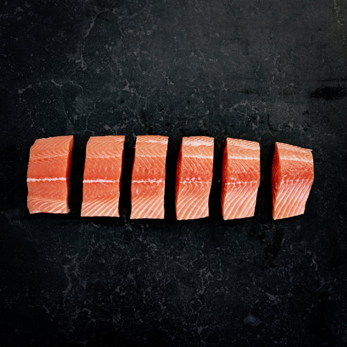 Atlantic Salmon Fillets Fresh Skin On 360g - 400g
