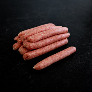 Beef Sausages 2kg Tray