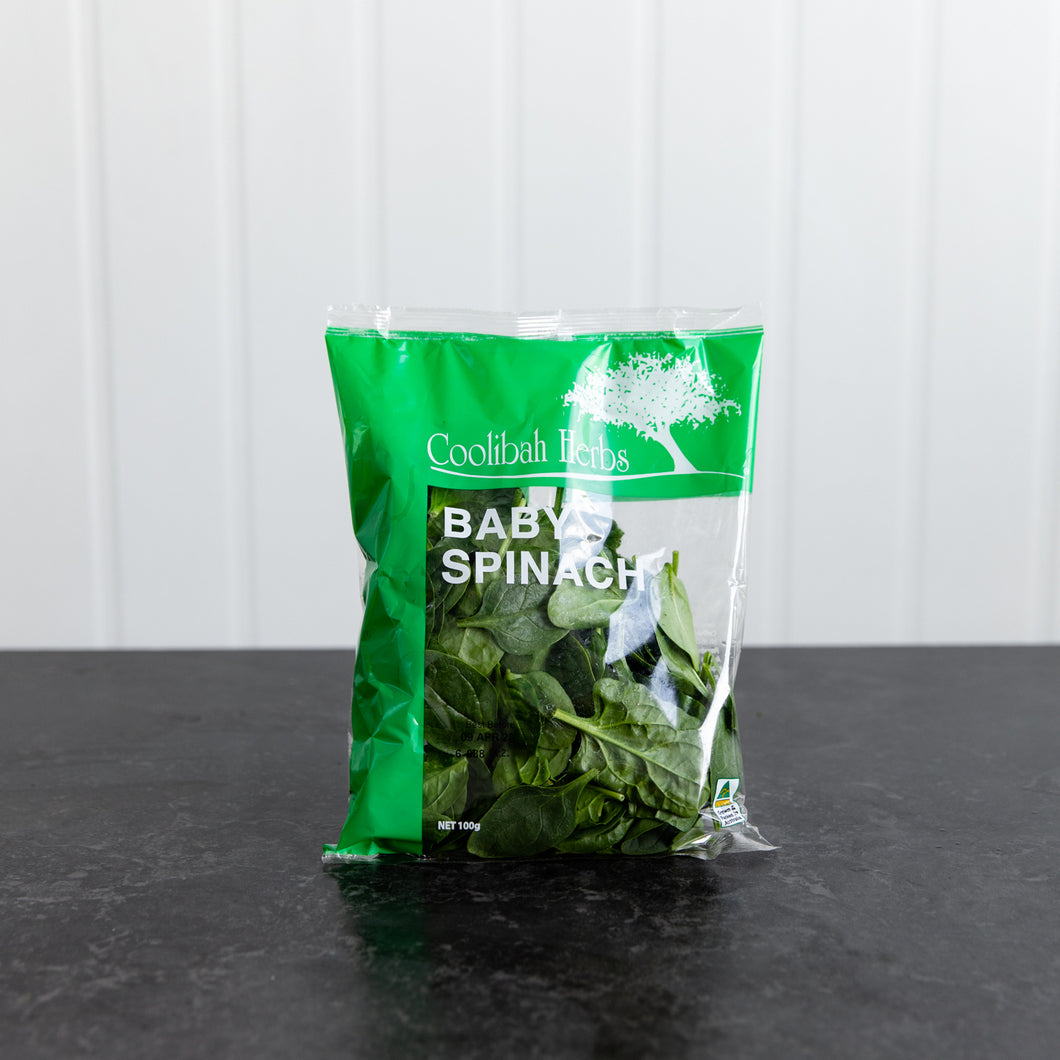 Baby Spinach Pre Pack 100g