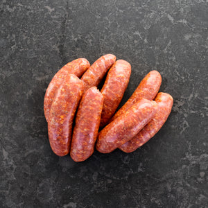 Italian Sausages Hot Thick 1kg Tray - Gluten Free