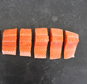 SPECIAL Huon Ocean Trout Skin On Fillets 1kg Packets Fresh (5x200g)