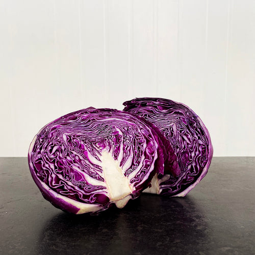 Cabbage Red Half (Each)