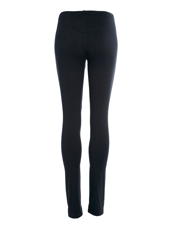 NÜ BASIC Leggings Leggings Schwarz